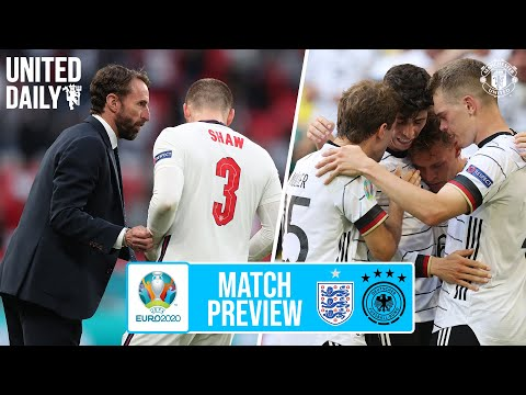 England v Germany Euro 2020 Preview with Bryan Robson | Manchester United | United Daily