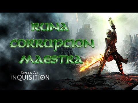 Dragon Age Inquisition - Guía Diagrama - Runa de Corrupcion Maestra