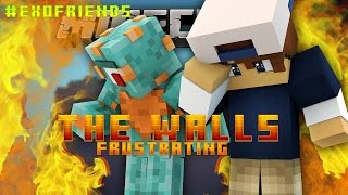 Minecraft WALLS! | This guy is so Frustrating!! /w MicroGuardian!
