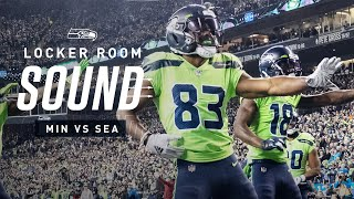 Seahawks Dance to New Edition vs Vikings | Locker Room Sound