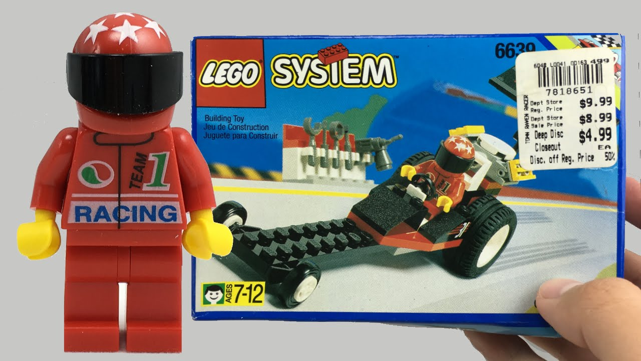 Lego Red Race Car
