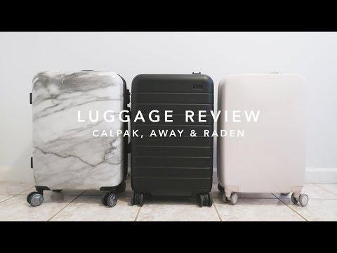 Luggage Review: Calpak, Away & Raden   laurenloraa