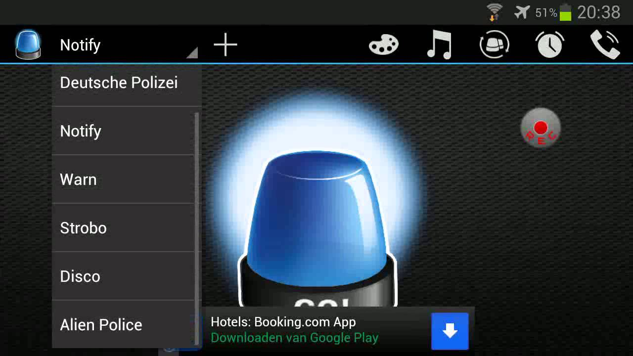 Police Light App