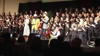 Рождественский детский мюзикл в Канадской школе 2015