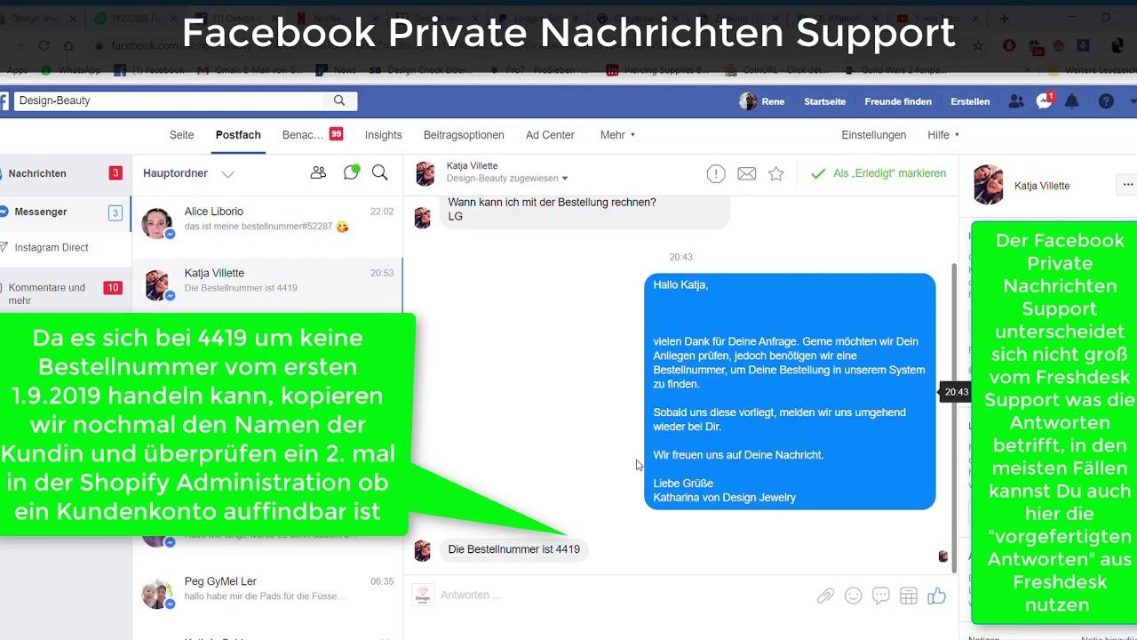 Facebook Private Nachrichten Mitlesen