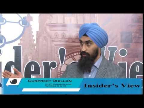 Insiders View Episode 4 With Gurpreet Dhillon City Councillor Brampton Ward 9& 10