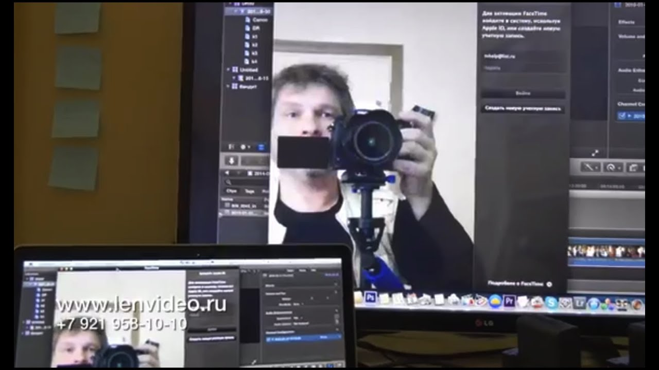 Ручной мини-стабилизатор для видеокамеры Steadycam - YouTube