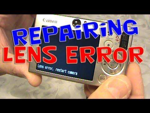 Repairing LENS ERROR CANON SD1000 DIGITAL ELPH Digital Camera Fix