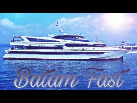 From Batam to singapore by ferry ( Batam fast)