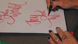 [TUTORIAL] Caligrafía : Como Dibujar Sus Palabras Fácilmente