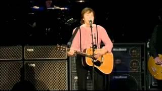 Paul McCartney - And I Love Her (10/Mayo/2012, Zócalo de la Ciudad de México)