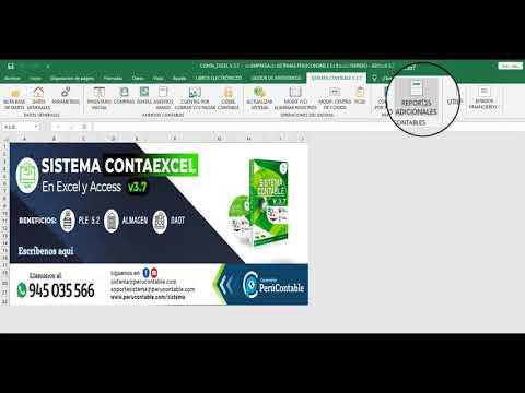 7. CONFIGURACIÓN DE LAS CUENTAS BANCARIAS - CONTAEXCEL V 3.7