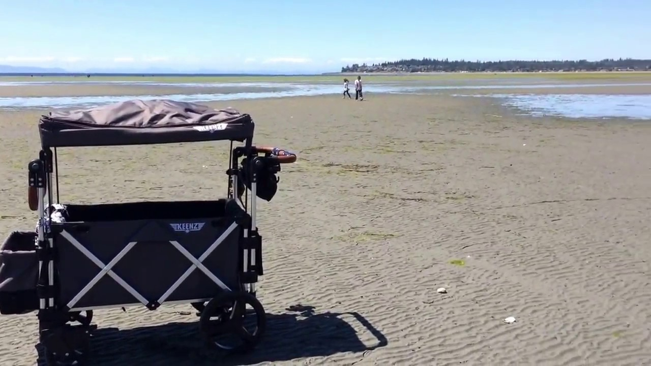 Keenz 7s Stroller Wagon Beach Wheels Vs Regular At The It S A Mom Life