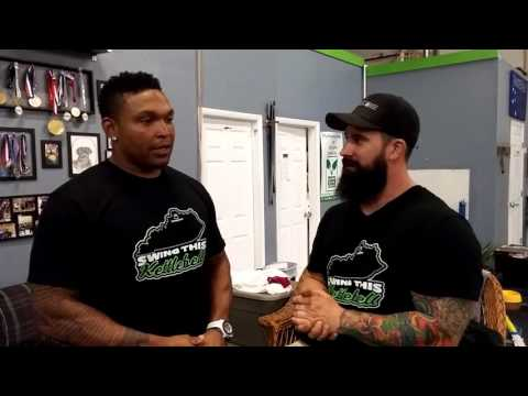 Joe Daniels Talks with Marlon Byrd Kettlebell , Stability and Injury Prevention for Baseball