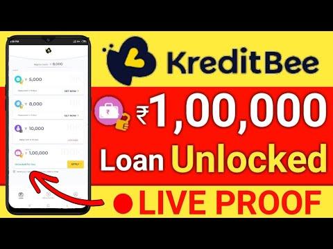 Kreditbee Unlocked 1 Lakh Loan Amount Live Proof Instantly Loan Apply Hindi Youtube