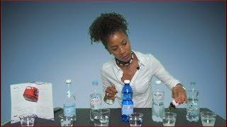 Wassertest mit Seifenlösung: Wieviel Wasser ist in Wasser?