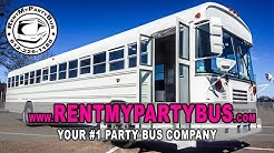 The White Diamond Party Bus - RentMyPartyBus, Inc.