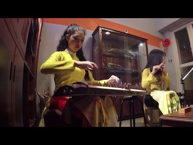 Lưu Thủy- Kim Tiền-Xuân Phong-Long Hổ- Song tấu tranh & sáo