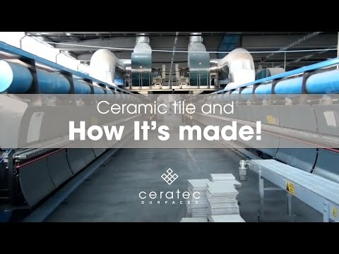 Ceramic tiles manufacturing process by Ceratec - How it's made?