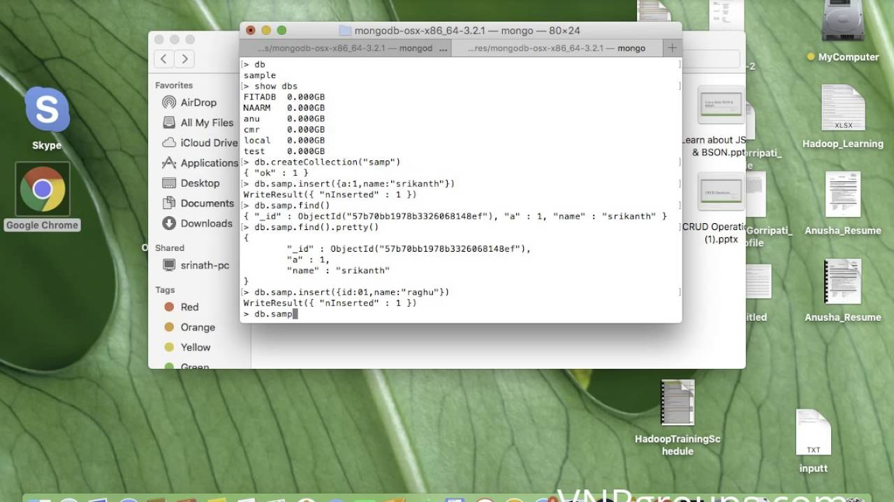 MongoDB Tutorial For Beginners - Create Database and Collections ...