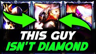 EU Silver Master Yi Goes Into NA Diamond For The FIRST TIME!! League Of Legends
