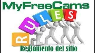 Reglas myfreecams - Modelos webcam - Jc studios