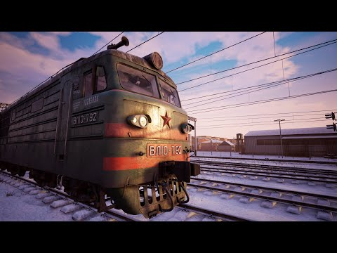 How to start and drive VL10 locomotive in Trans-Siberian Railway Simulator (Developer Commentary) |