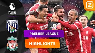 DIT IS TOCH GEWELDIG?! 😍😳 | West Brom vs Liverpool | Premier League 2020/21 | Samenvatting