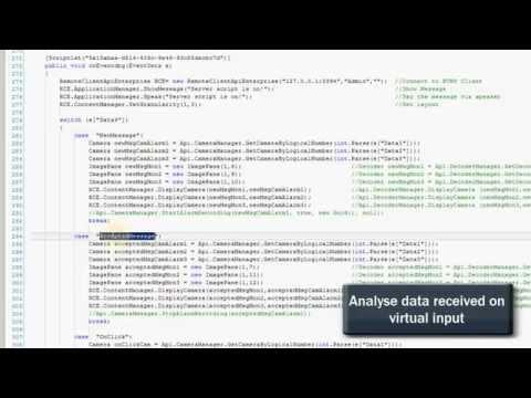Bosch BVMS C# Scripts