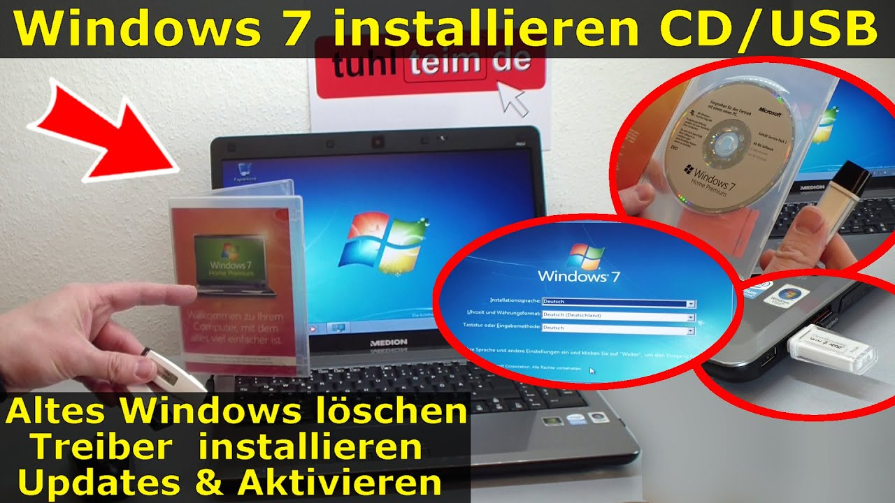 Eee Pc Windows 7 Neu Installieren