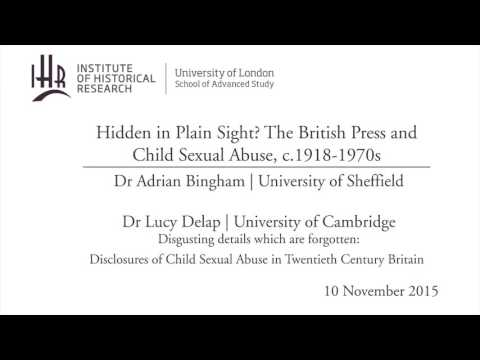 Hidden in Plain Sight? The British Press and Child Sexual Abuse, c.1918-1970s