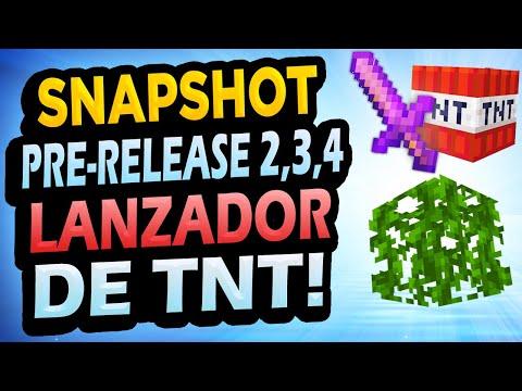 ✅ Minecraft 1.17 PRE-RELEASE 2,3,4 👉 Cambios en Ajolotes, Vines y Más!