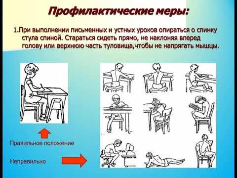 Нарушение осанки. Профилактика и лечение в детском возрасте.