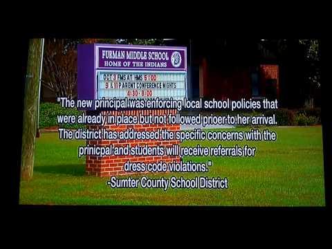 Jamie Compton vs Furman Middle School