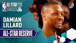 Best Of Damian Lillard 2019 All-Star Reserve | 2018-19 NBA Season