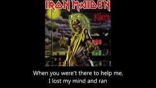 Iron Maiden - Innocent Exile (Lyrics)