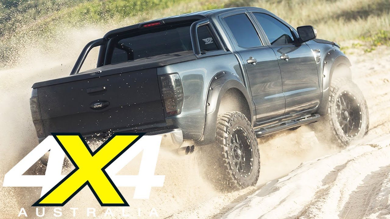 Supercharged V8-powered Ford Ranger review