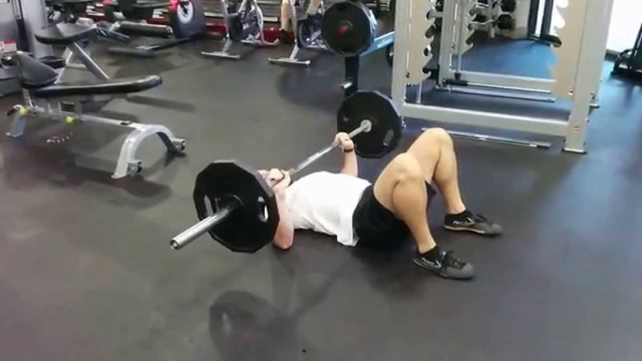 Floor Press - without a rack - YouTube