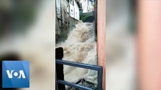 Italy's Lake Como Area Hit by Floods and Mudslides