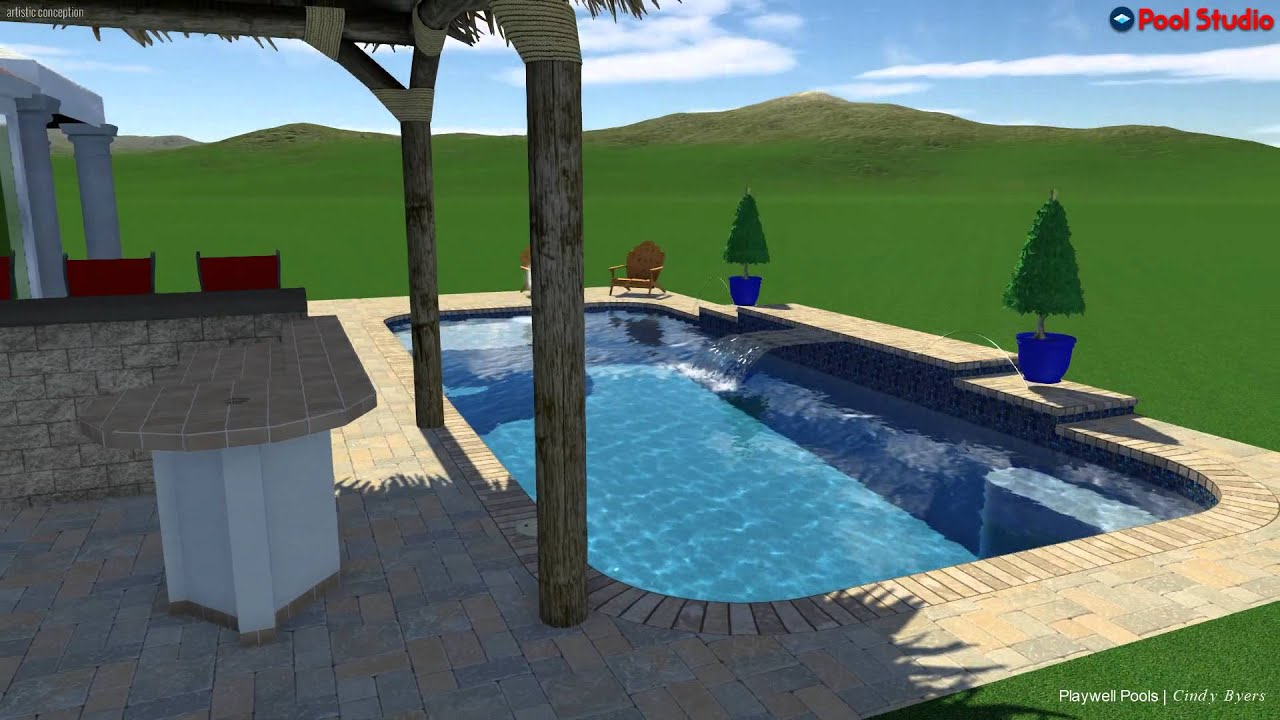 Pool Studio   3D Swimming Pool Design Software