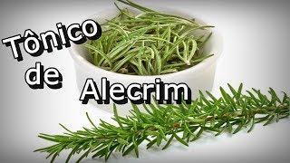 tonico de Alecrim para crescimento dos cabelos