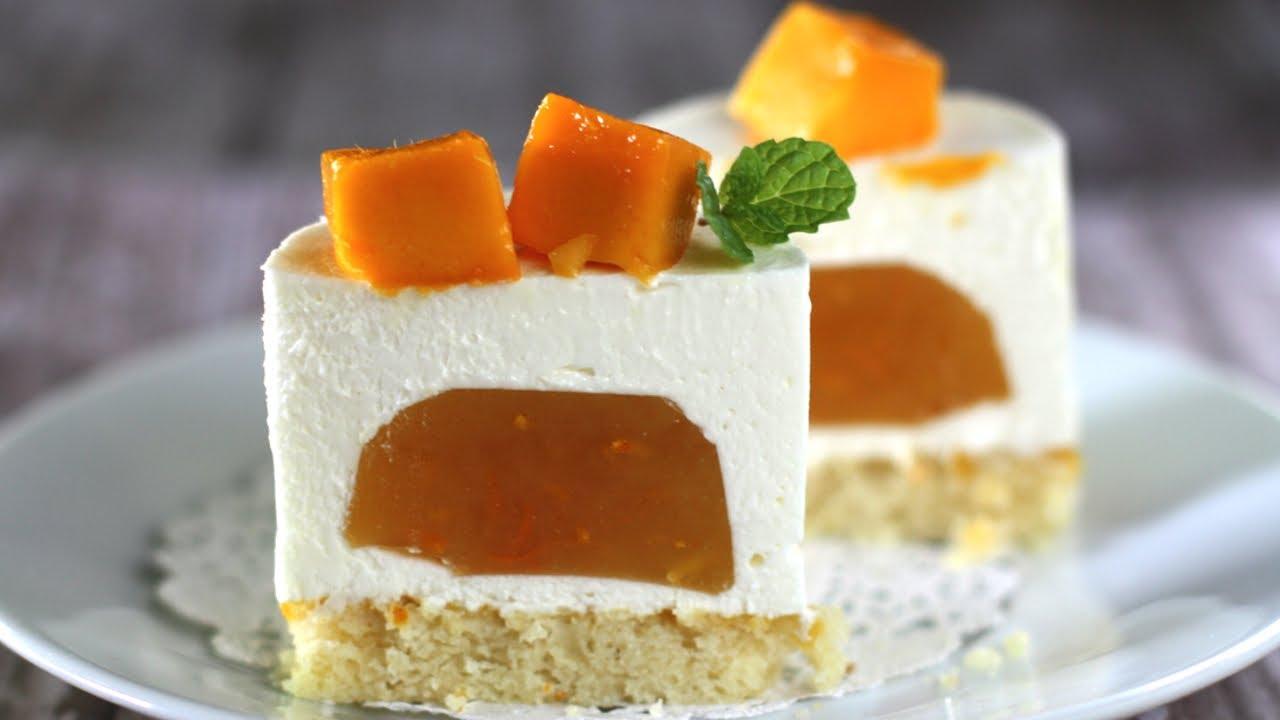 Orange Mousse Cake Recipe