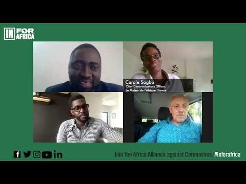 Panel discussion in French |  Theme :  Culture In Africa |  June 9,2020