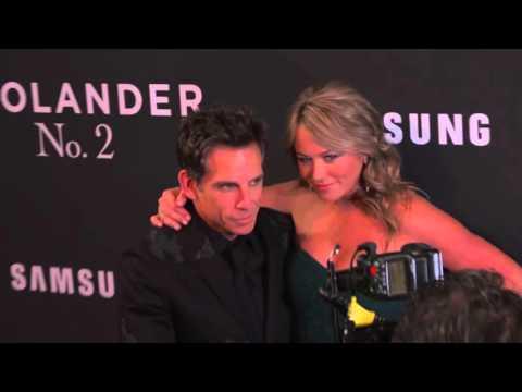 Zoolander 2 New York Premiere Arrivals - Penelope Cruz, Kristen Wigg, Ben Stiller, Owen Wilson