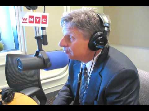 Gary Johnson Talks Pot and Border Politics with Brian Lehrer