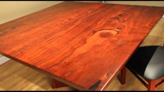 Contemporary Square Dining Table