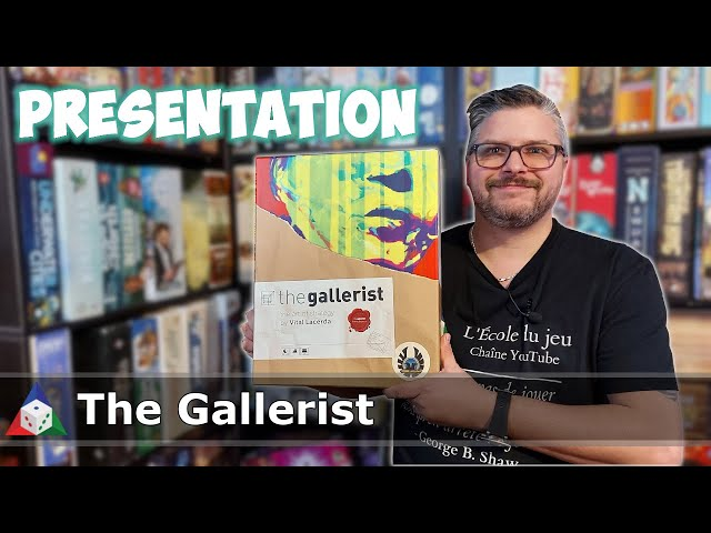 The Gallerist - Présentation du jeu