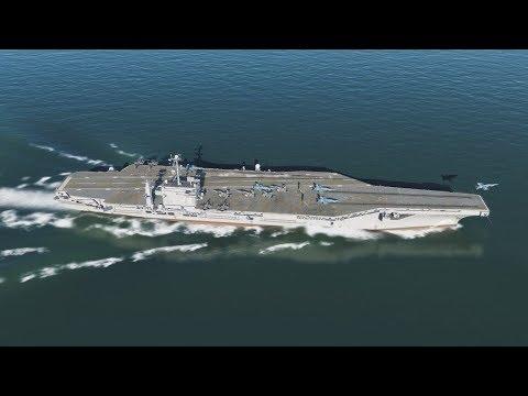 空母打撃群に対艦攻撃【DCSWorld2.5】