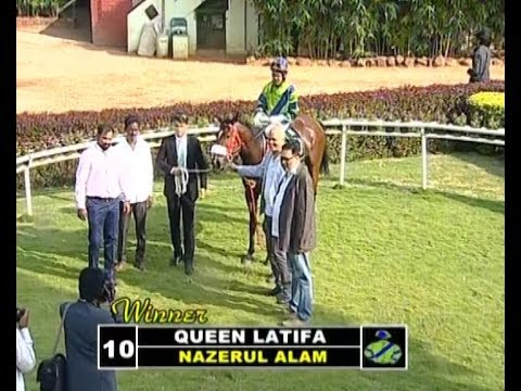 Queen Latifa with Nazerul Alam  up wins The Bangarpet Plate 2018