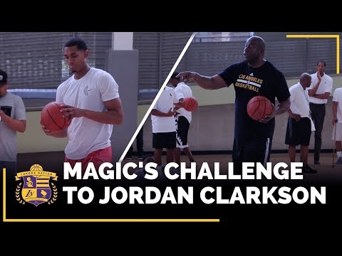 Magic Johnson's Big Challenge To Jordan Clarkson